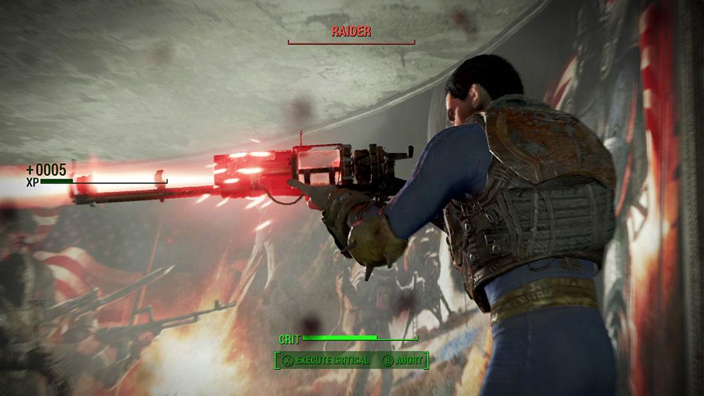 Fallout Ремонт Оружия