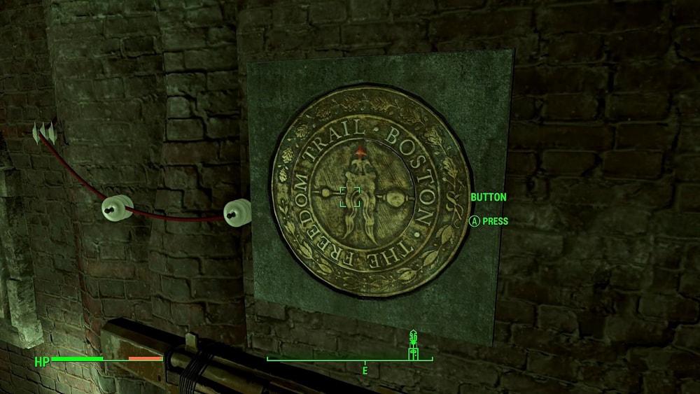 Fallout 4 код подземки