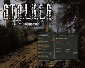 Спавн меню Call of Chernobyl