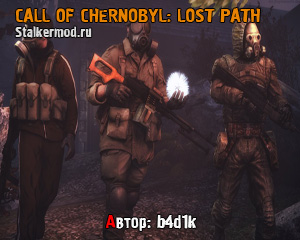 Call of Chernobyl Lost Path