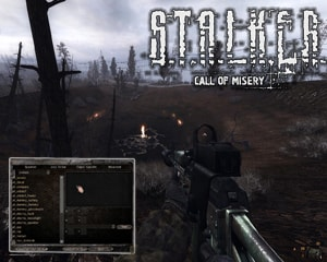 Спавн меню для Call of Misery