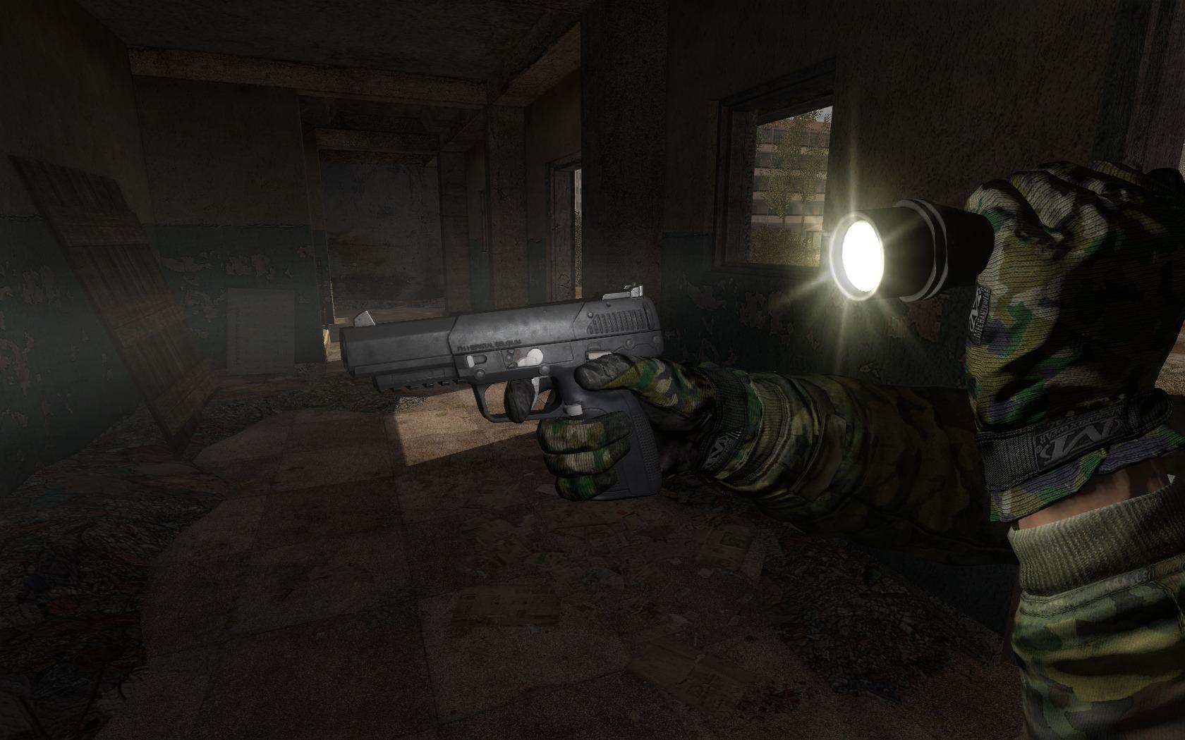 Stalker GUNSLINGER mod
