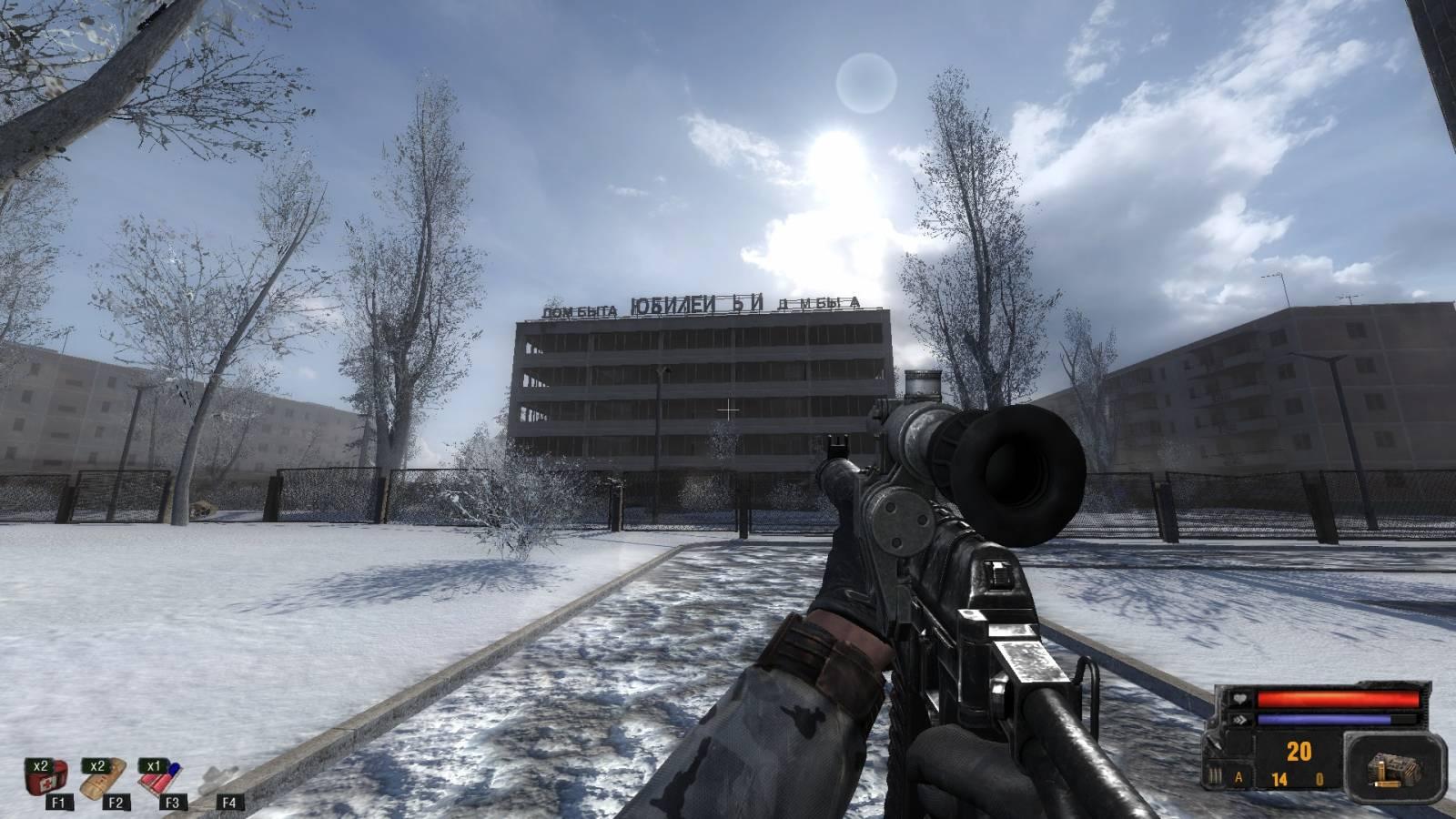 Зимний снайпер (03.01.2018)