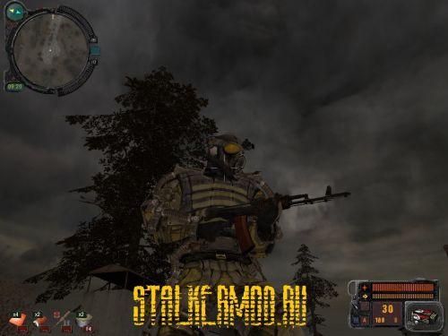 Stalker Наёмный Призрак Комариная Плешь