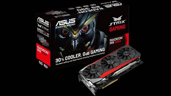 AMD Asus Gaming Strix Radeon R9 390